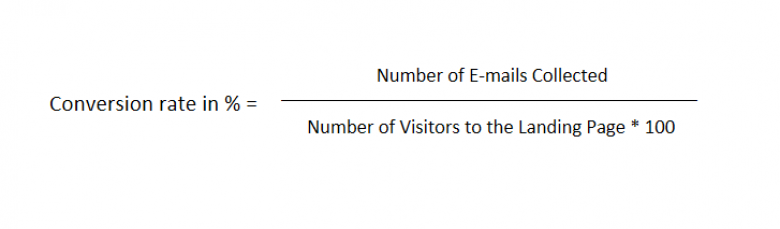 Conversion Rate Equation