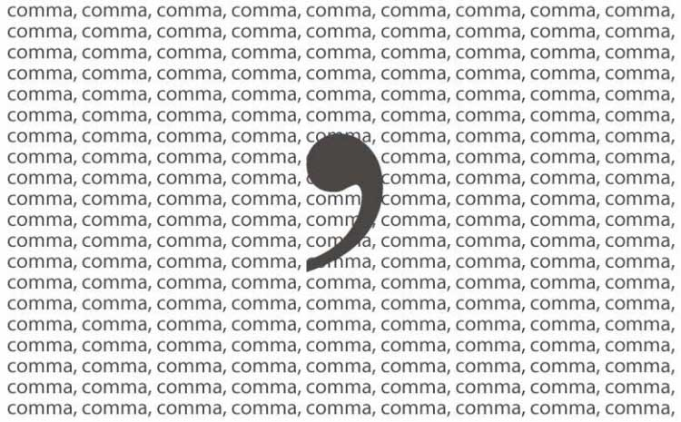 Fanboy comma examples