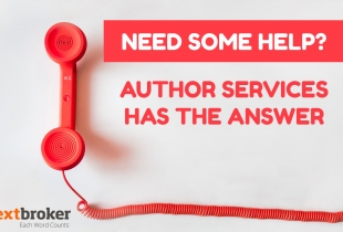 Help from author services