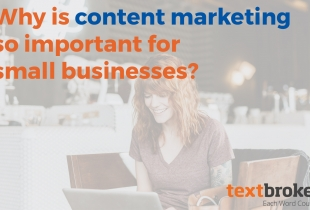 Small Business content marketing title