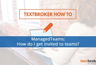 Joining managedteams