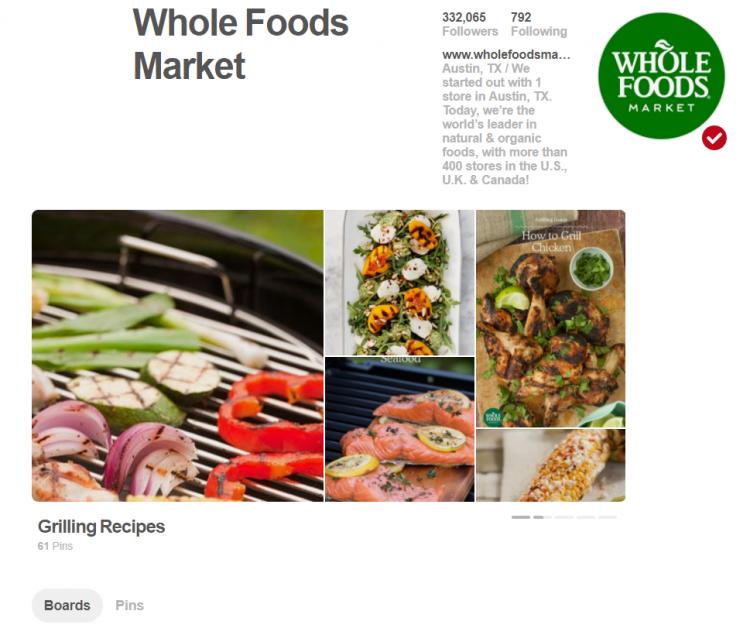 wholefoods pinterest