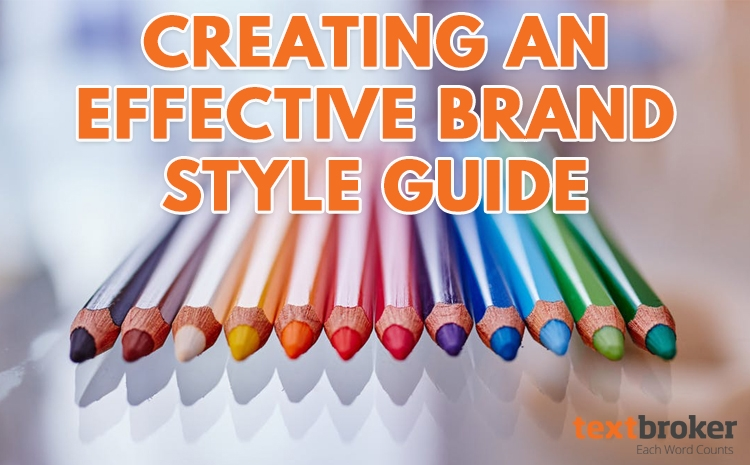 Creating an effective brand style guide
