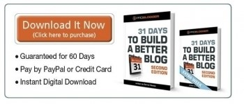 31 days to build a better blog ebook