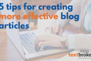 Tips for Effective Blog Articles