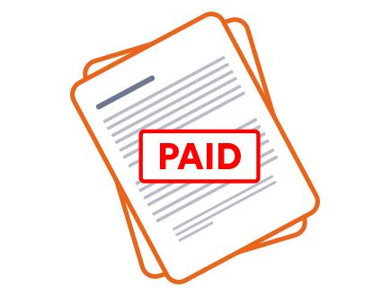 Invoice paid
