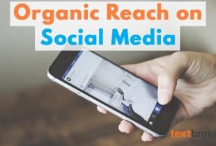 Organic Reach Social Media Phone