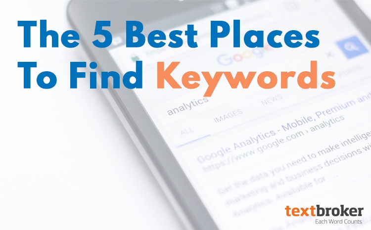 best places to find keywords
