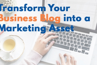 create a business blog