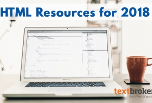 HTML resources for 2018