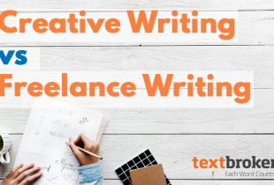 Creative writing vs freelance writing