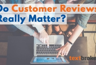 Do Customer Reviews Matter?