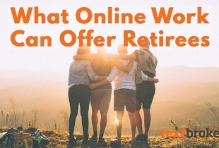 freelance work for retired people