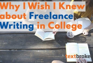 Freelance writing in college