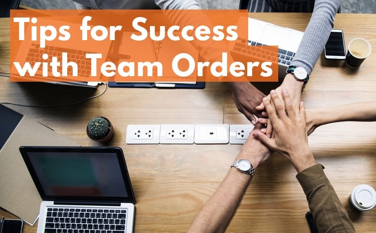 tips for team orders on textbroker