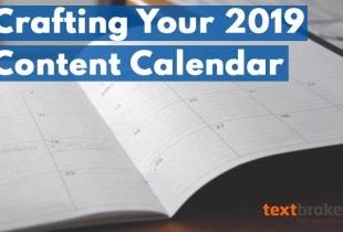 2019 content calendar planning tips
