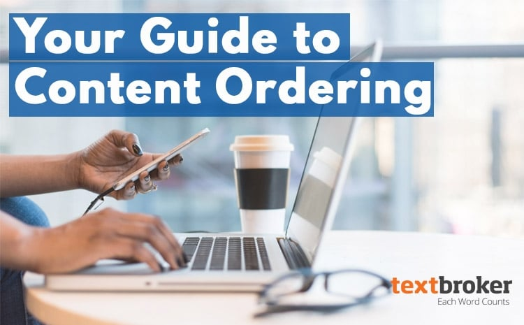 Tips for ordering content on Textbroker