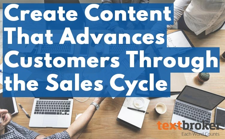 using content to assist sales