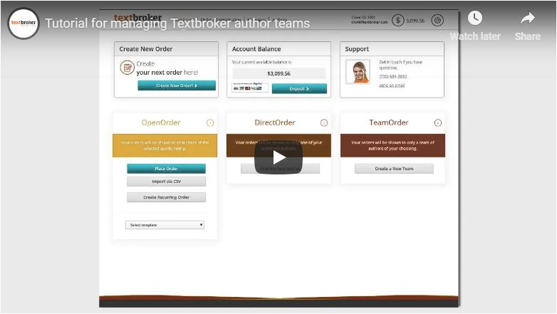 Managing Author Teams