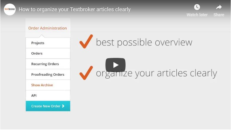 Textbroker Archive