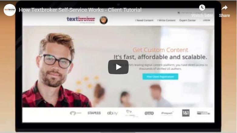 Textbroker Client Tutorial