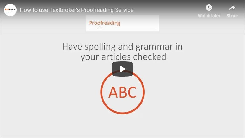 Proofreading services free