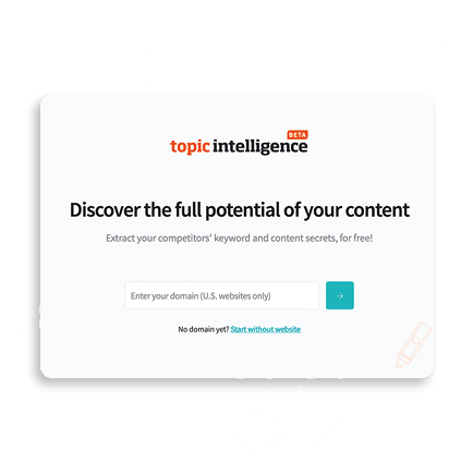 topic intelligence start