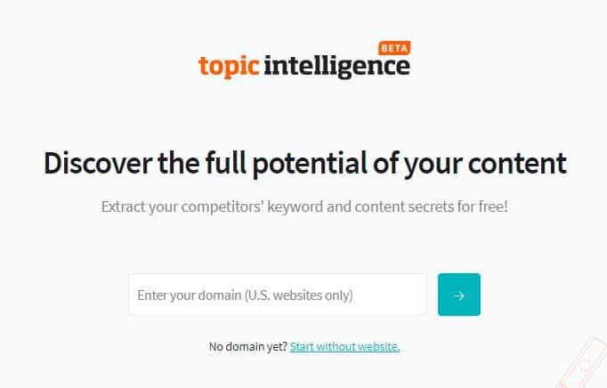 Textbroker Topic Intelligence