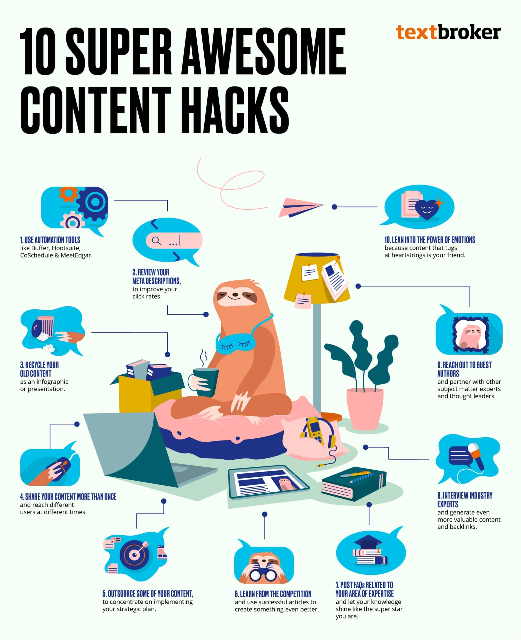 10 Content Hacks